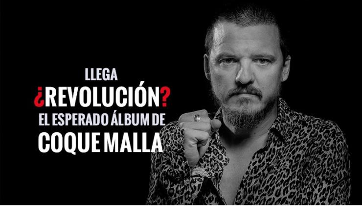 Coque Malla presenta su nuevo disco «¿Revolución?»