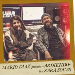 MARIO DÍAZ PRESENTA «ARDIENDO» feat SARA SOCAS