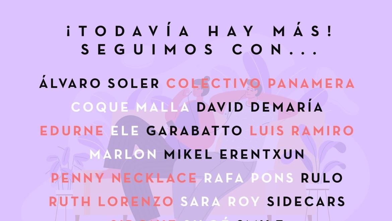 COQUE MALLA EN LA SEGUNDA EDICIÓN DEL FESTIVAL #YOMEQUEDOENCASA