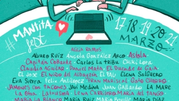 MARIO DÍAZ EN #CONCIERTODESDECASA CON «MANTITA FEST»