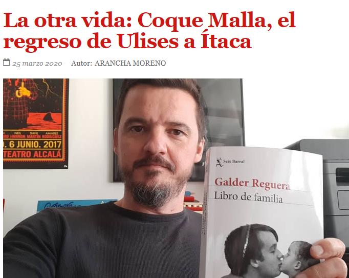 """COQUE MALLA: """"LAS GANAS DE VIVIR, DE HACER COSAS, DE TOCARSE, DE BESARSE, DE IR A CONCIERTOS… QUE VA A TENER LA GENTE. CONFÍO EN ESO""""."""